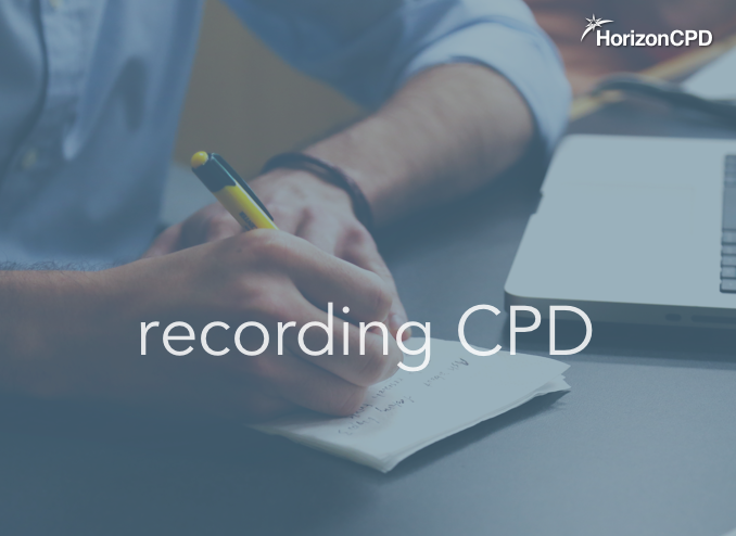 CPD - What should be recorded